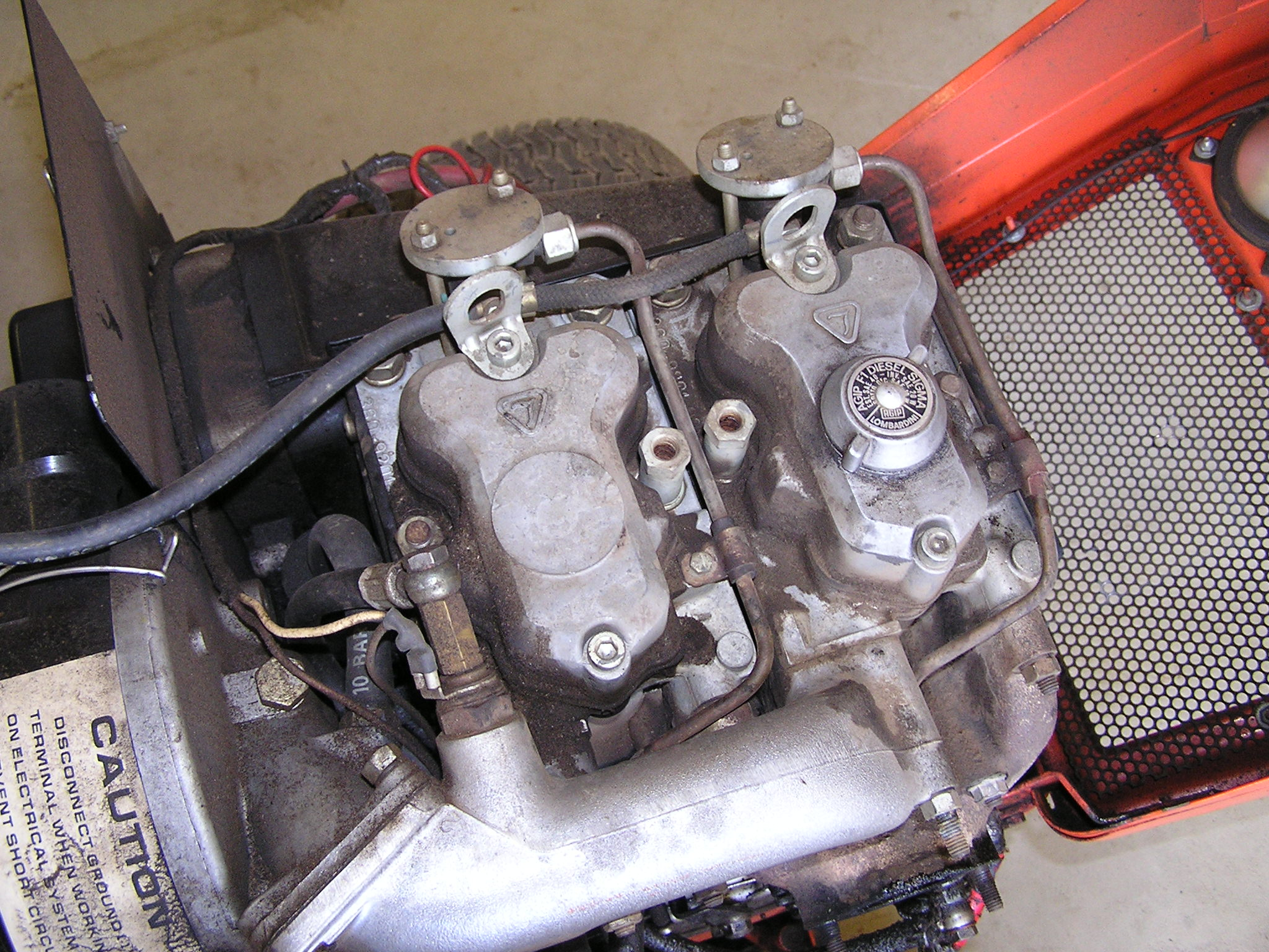 Fiat Barchetta P2424 Engine Error Code